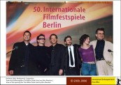 Team des Eröffnungsfilms The Million Dollar Hotel by Wim Wenders