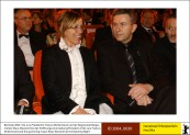 Frances McDormand and Klaus Wowereit