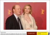 Ron Howard and Cate Blanchett
