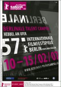Offizielles Plakat Berlinale Talent Campus 2007