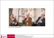 Talk with Alfred Biolek, Michael Ballhaus and Carlo Petrini