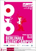 Offizielles Plakat Berlinale Talent Campus 2008