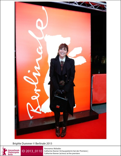 Catherine Keener   Panorama | Impressions  Maladies: the actress at the premiere.  ID 2013_0110