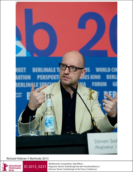 Steven Soderbergh    Competition |  Side Effects   Director Steven Soderbergh at the Press Conference.  ID 2013_0231