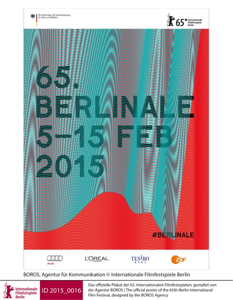 The poster for the Berlinale 2015   Posters | Posters  The official poster of the 65th Berlin International Film Festival, designed by the BOROS Agency  ID 2015_0016
