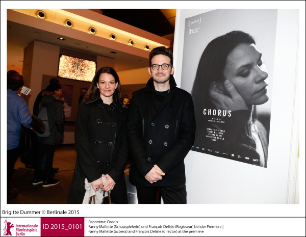 Fanny Mallette, François Delisle   Panorama | Impressions  Chorus: Fanny Mallette (actress) and François Delisle (director) at the premiere.  ID 2015_0101