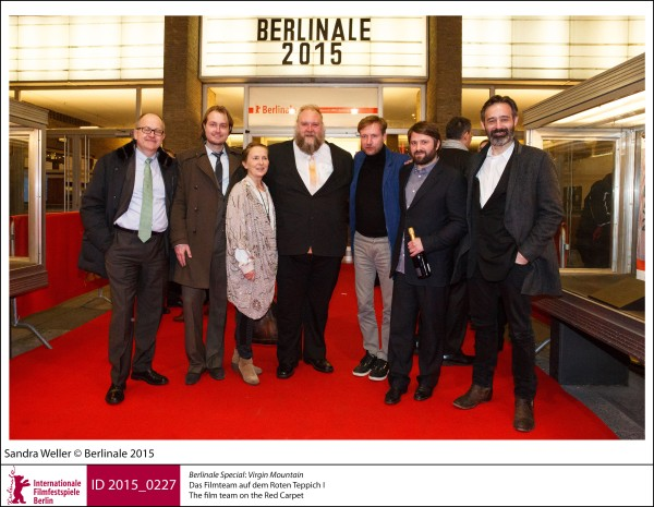 Film team   Berlinale Special |  Virgin Mountain   The film team on the Red Carpet.  ID 2015_0227