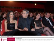 Amal Clooney, George Clooney, Michael Müller, Claudia Müller