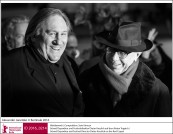 Gérard Depardieu and Dieter Kosslick