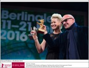 Trine Dyrholm and Gianfranco Rosi