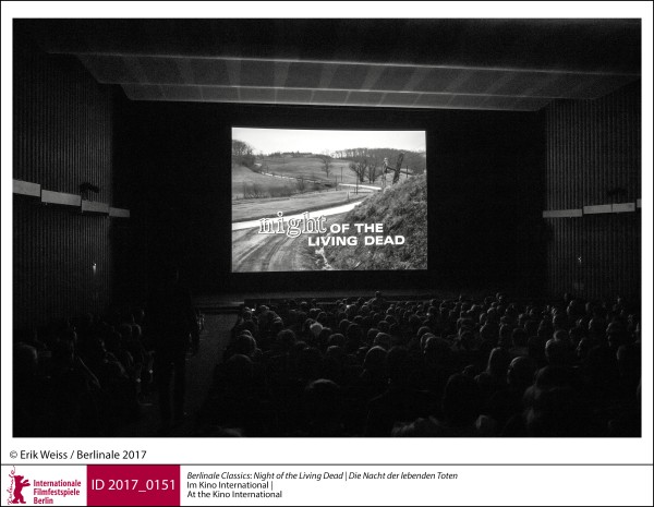 Vorführung   Retrospektive & Hommage | Berlinale Classics  Night of the Living Dead | Die Nacht der lebenden Toten: Im Kino International.  ID 2017_0152