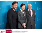 Ronald Zehrfeld, Sam Riley und James Cosmo
