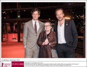 James Norton, Angnieszka Holland und Peter Sarsgaard