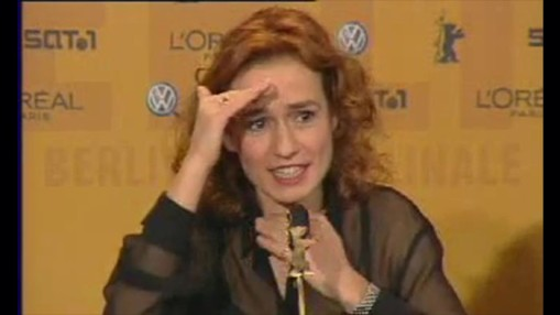 Press Conference    Friday Feb 06, 2004    Patrice Leconte (Director) Sandrine Bonnaire (Actress)
