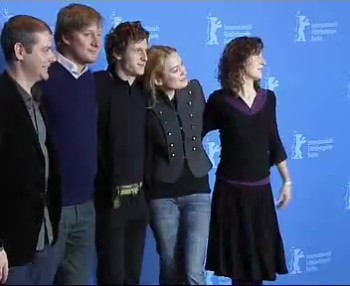 Press Conference    Friday Feb 16, 2007    Gillian Berrie (Producer)   Jamie Bell (Actor)   David MacKenzie (Director)   Sophia Myles (Actress)   Matthew Justice (Producer)   Moderator: Stephen Locke