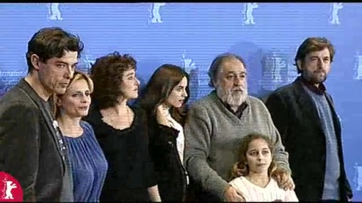 Press Conference    Wednesday Feb 13, 2008    Laura Paolucci (Producer)   Domenico Procacci (Producer)   Isabella Ferrari (Actress)   Valeria Golino (Actress)   Blu Yoshimi (Actress)   Antonello Grimaldi (Director)   Nanni Moretti (Actor)   Alessandro Gassman (Actor)   Kasia Smutniak (Actress)   Francesco Piccolo (Script)   Caterina d'Amico (RAI Cinema)   Vincenzo Bugno (Moderator)
