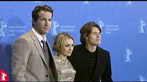 Press Conference    Sunday Feb 10, 2008    Dennis Lee (Director)   Hayden Panettiere (Actress)   Willem Dafoe (Actor)   Ryan Reynolds (Actor)   Marco Weber (Producer)