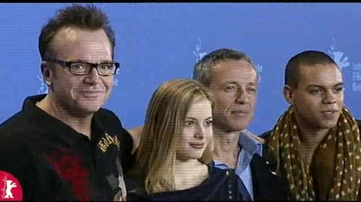 Press Conference    Saturday Feb 09, 2008    Damian Harris (Director)   Tom Arnold (Actor)   Gillian Jacobs (Actress)   Evan Ross (Actor)   Ralf Schenk (Moderation)