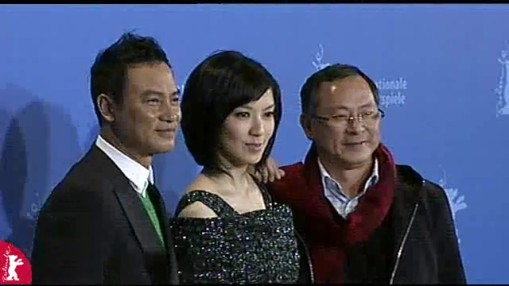 Press Conference    Monday Feb 11, 2008    Ding Yuin Shan (Assistant, Interpreter)   Johnnie To (/Director)   Simon Yam (Actor)   Kelly Lin (Actress)   Anatol Weber (Moderator)