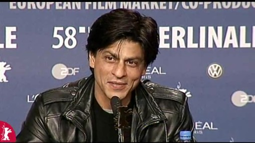 Press Conference    Friday Feb 08, 2008    Kishore Lulla (Producer)   Shah Rukh Khan (Actor)   Dorothee Wenner (Moderation