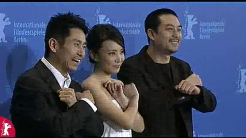 Press Conference    Friday Feb 08, 2008    Cheng Kaisheng (Actor)   Liu Weiwei (Actress)   Wang Xiaoshuai (Director)   Zhang Jiayi (Actor)   Joseph Schnelle (Moderation)