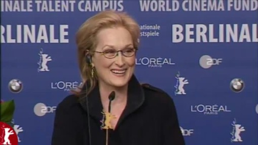 Press Conference    Tuesday Feb 14, 2012    Jim Broadbent (Actor) Meryl Streep (Actress) Phyllida Lloyd (Director) Moderation: Rainer Rother