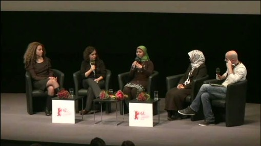 Interview    Thursday Feb 16, 2012    A panel discussion with Kismet El Sayed, Noura Younis, Shaayma Adel and Samah Abdel Aaty at the Haus der Berliner Festspiele. Moderation: film journalist Alaa Karkouti from Kairo