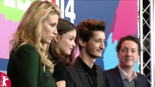 Press Conference    Friday Feb 07, 2014    Wassim Beji (Producer), Marie De Villepin (Actress), Charlotte Le Bon (Actress), Pierre Niney (Actor), Guillaume Gallienne (Actor), Jalil Lespert (Director), Nikolai Kinski (Actor)   Moderation: Jenni Zylka   Press Conference at full length