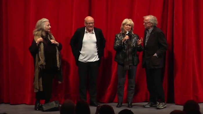 Short panel talk (mostly in German) in the Haus der Berliner Festspiele with Volker Schlöndorff (directing and script), Klaus Doldinger (score) as well as Margarethe von Trotta and Hanna Schygulla (cast).