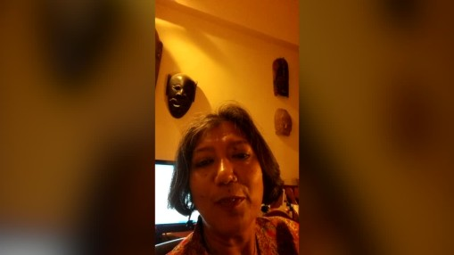 Berlinale 2015    Wednesday Jan 28, 2015    Video message by Madhusree Dutta from India, member of the  International Short Film Jury  2015