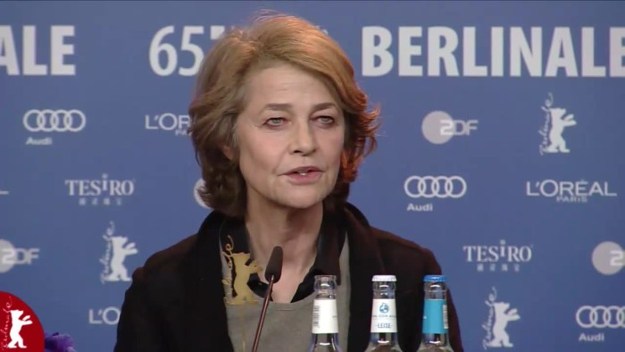 Tristan Goligher (Producer), Charlotte Rampling (Actress), Andrew Haigh (Director, Screenwriter), Sir Tom Courtenay (Actor)Moderation: Nikolaj Nikitin