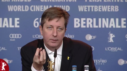 Press Conference    Wednesday Feb 11, 2015    Hal Hartley (Director, Screenwriter) Moderation: Anatol Weber