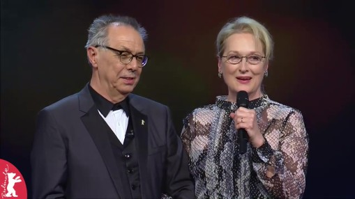 Gala    Thursday Feb 11, 2016    Jury President Meryl Streep and Festival Director Dieter Kosslick opened the 66th Berlin International Film Festival at the Berlinale Palast at 7.30 pm on February 11.   Gala at full length