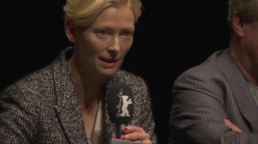 Panel     Saturday Feb 13, 2016    Tilda Swinton reading out a self portrait by John Berger.