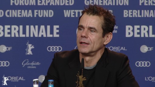 Press Conference    Thursday Feb 15, 2018    Chema Prado, Cécile de France, Tom Tykwer, Adele Romanski, Ryūichi Sakamoto, Stephanie Zachareki, Moderation: Anatol Weber   Press Conference at full length
