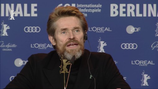 Press Conference    Tuesday Feb 20, 2018    The 68th Berlinale awards the Honorary Golden Bear for lifetime achievement to actor Willem Dafoe.   Moderation: Rainer Rother   Press Conference at full length