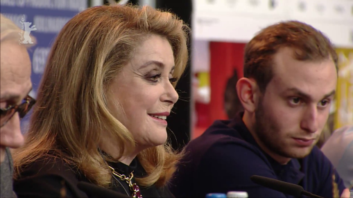 Press Conference    Tuesday Feb 12, 2019    Léa Mysius (Screenwriter), Stéphane Bak (Actor), André Téchiné (Director, Screenwriter), Catherine Deneuve (Actress), Kacey Mottet Klein (Actor), Olivier Delbosc (Producer)   Moderation: Anatol Weber   Press Conference at full length