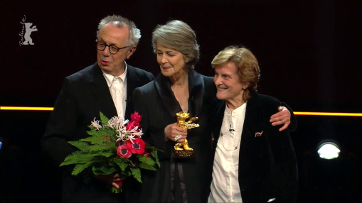Gala    Thursday Feb 14, 2019    The 69th Berlinale awards the Honorary Golden Bear for lifetime achievement to actress Charlotte Rampling, to whom this year's  Homage  is also dedicated.   Laudatory Speech: Liliana Cavani