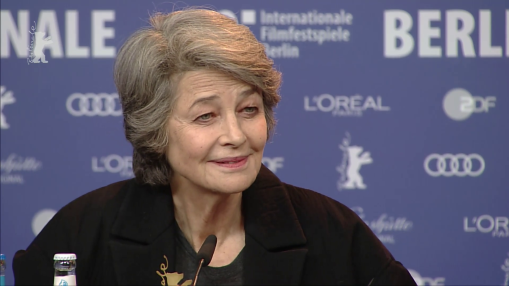 Press Conference    Thursday Feb 14, 2019    Charlotte Rampling (Actress)   Moderation: Rainer Rother   Press Conference at full length