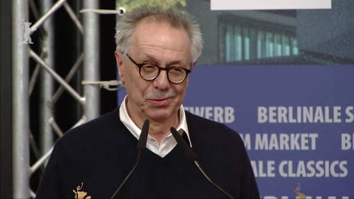 Press Conference    Saturday Feb 16, 2019    Amnesty International Film Prize, Prizes of the Ecumenical Jury ( Competition ,  Panorama ,  Forum ), Prize of the Guild of German Art House Cinemas, CICAE Art Cinema Awards ( Panorama ,  Forum ), Berliner Morgenpost Reader's Jury Award, Tagesspiegel Reader's Jury Award   Press Conference at full length