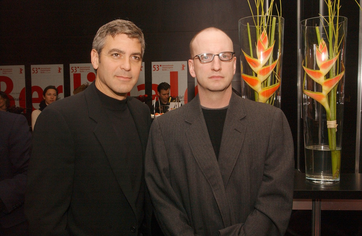 Steven Soderbergh, Gorge Clooney   VIP Lounge:  Solaris  director Steven Soderbergh and leading actor George Clooney     Competition  –   Solaris      Feb 8, 2003