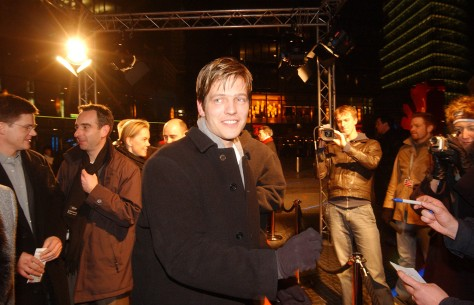 Feb 10, 2003Thomas Vinterberg  Director Thomas Vinterberg before the premiere of his film It's All About Love Berlinale Special – It's All About Love