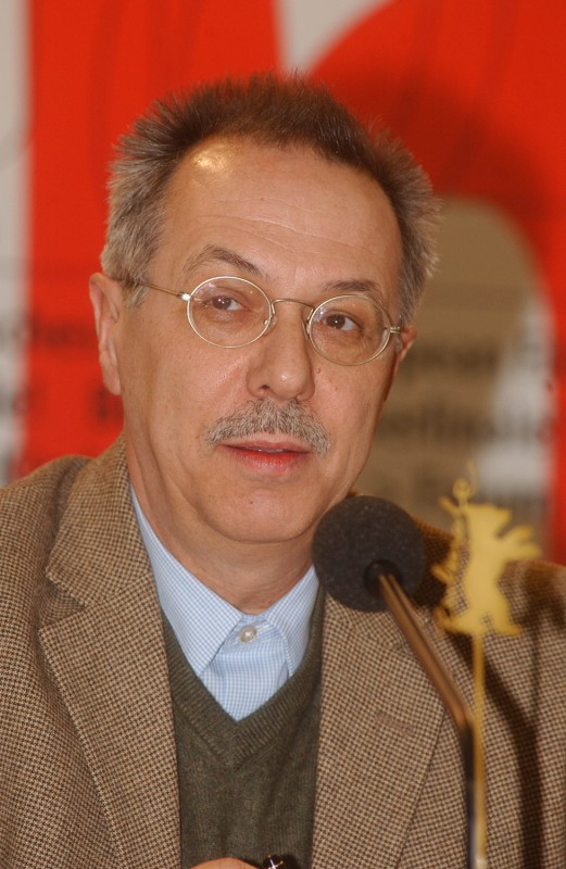 Dieter Kosslick   Festival director Dieter Kosslick at the press conference of the 53rd Berlinale in the Press - and Public Relation Centre of the Federal Government, January 28, 2003.    Programme Press Conference    Jan 28, 2003