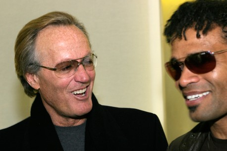 Feb 9, 2004Peter Fonda, Mario van Peebles  Two generations: Peter Fonda and Mario van Peebles Panorama – Gettin' The Man's Foot Outta Your Baadassss!