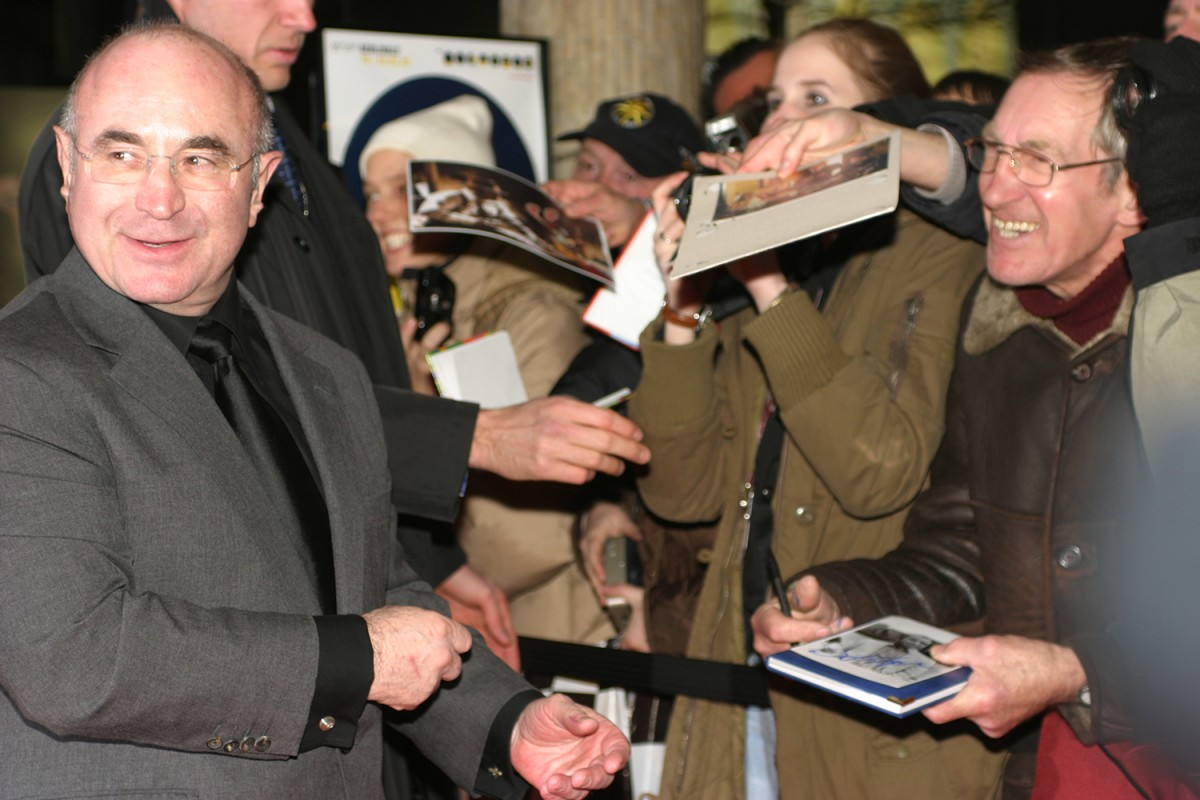 Bob Hoskins   Actor Bob Hoskins is obviously delighted by the enthusiasm sparked by his appearance.     Panorama  –   Beyond the Sea      Feb 13, 2005