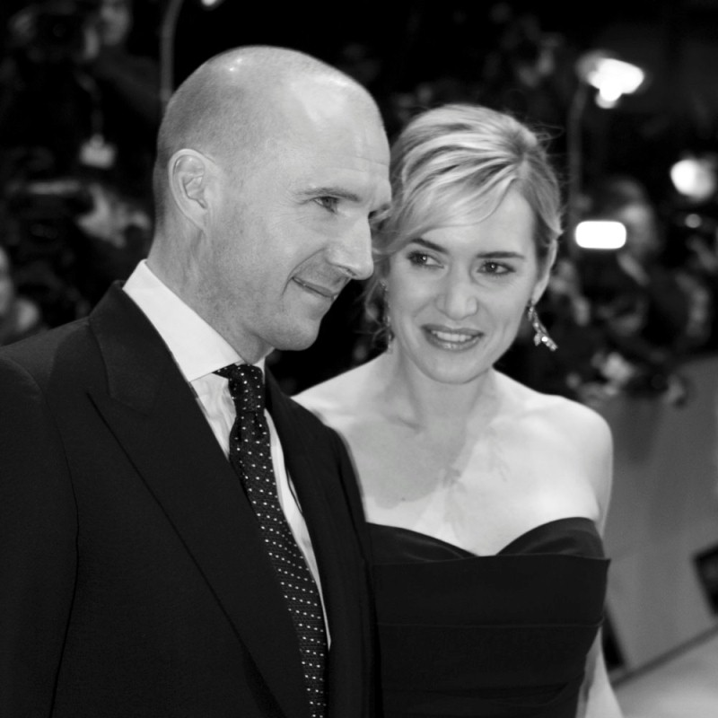 Ralph Fiennes, Kate Winslet   Ralph Fiennes and Kate Winslet walk the Red Carpet together.     Competition  –   The Reader  | Der Vorleser  – Berlinale Palast    Feb 6, 2009