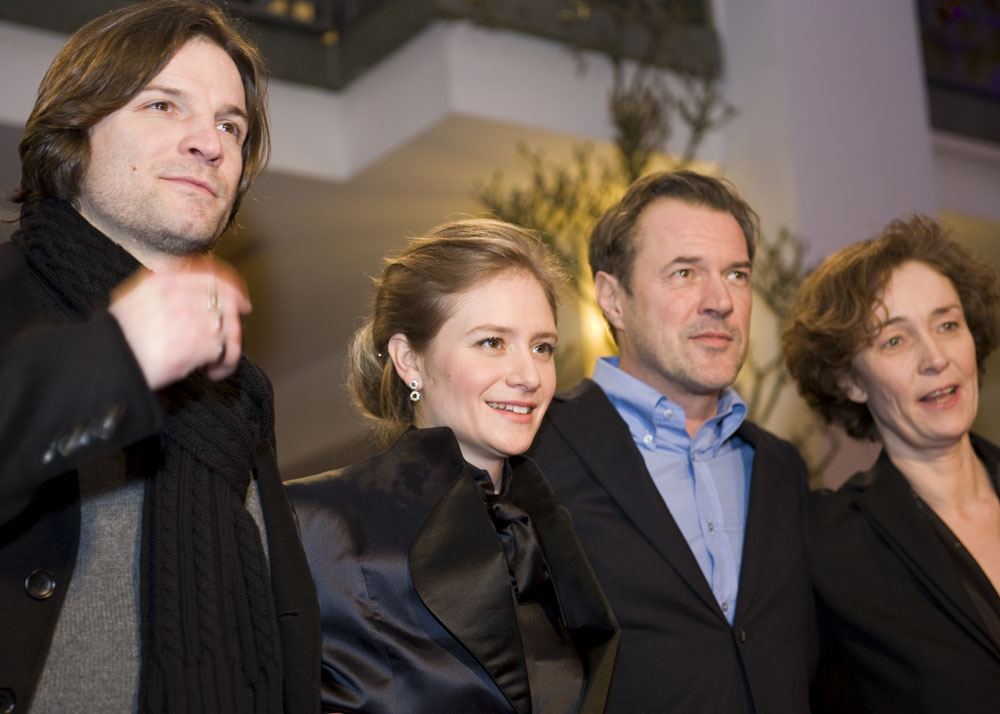 Misel Maticevic, Julia Jentsch, Sebastian Koch, Hermine Huntgeburth   Actors Mišel Matičević, Julia Jentsch and Sebastian Koch with their director Hermine Huntgeburth at the  Effi Briest  premiere.     Berlinale Special  –   Effi Briest   – Friedrichstadt-Palast    Feb 9, 2009
