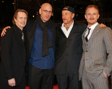 Feb 9, 2009Steve Buscemi, Oren Moverman, Woody Harrelson, Ben Foster  Steve Buscemi, director Oren Moverman, Woody Harrelson and Ben Foster entering the Berlinale Palast. Competition – The Messenger – Berlinale Palast