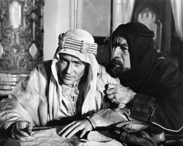 Peter O'Toole, Anthony Quinn in 'Lawrence of Arabia' (David Lean; 1961-62)(Cinémathèque Suisse, Lausanne)