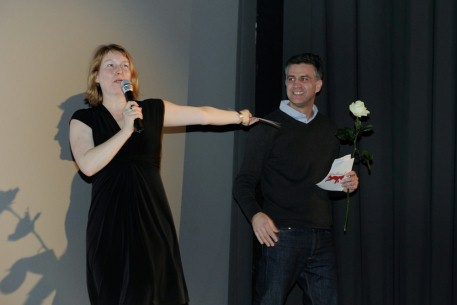 "Feb 11, 2011Linda Soeffker, Romuald Karmakar  The section head and the jury president of the ""Dialogue en perspective"" on the section's opening night. Perspektive Deutsches Kino – Utopia Ltd. – Jury ""FGYO-Award Dialogue en perspective"""
